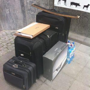 bagaż Tomasza Milera