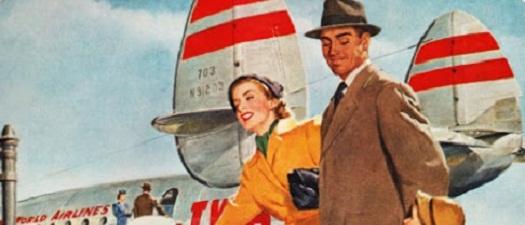 Podróż ze stylem linie lotnicze TWA 1940_mini