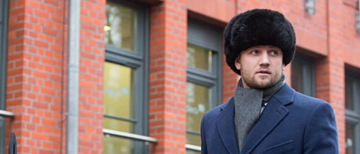 Futrzana czapka uszanka