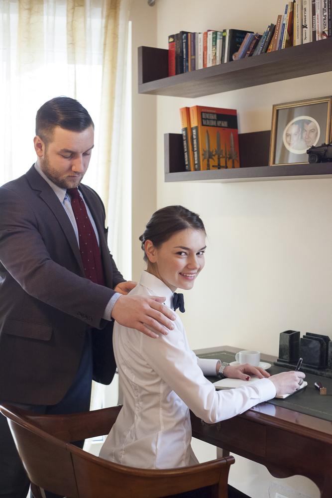 Tomasz Miler i Olga Miler