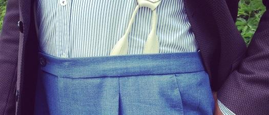 Letnie spodnie Instagramem