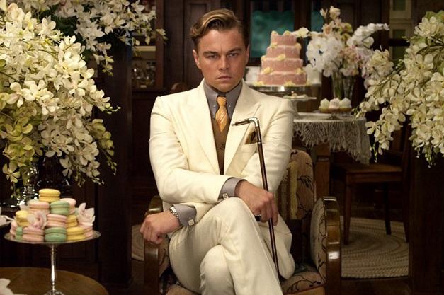 Leonardo diCaprio jako Gatsby