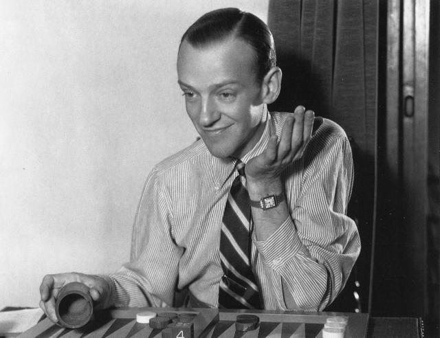 Fred Astaire w koszuli OCBD