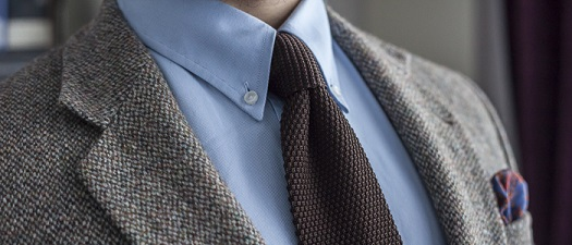 PROJEKT 10 KOSZUL – 1/10(2) BŁĘKITNA KOSZULA OCBD (ANG. OXFORD CLOTH BUTTON-DOWN)