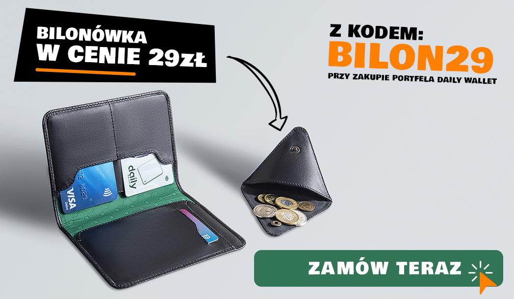 1d835d267f069 ... portfela Daily Wallet mogą dodatkowo kupić bilonówkę w specjalnej cenie  – 29zł! Dzięki temu oszczędzacie 70zł! Wystarczy dodać do koszyka oba  produkty w ...