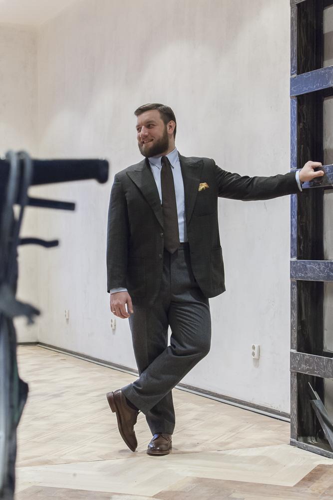 Tom Miler Flannel Trousers Bespoke Odd Jacket
