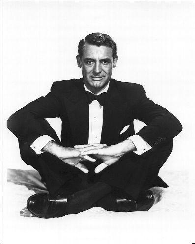 poszetka Cary Grant