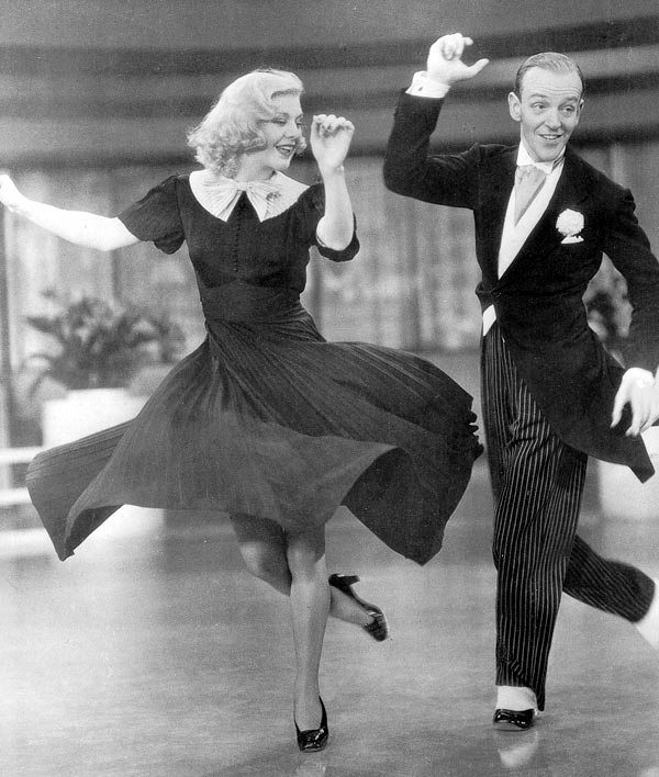 FredAstaire Ginger Rogers Morning Suit