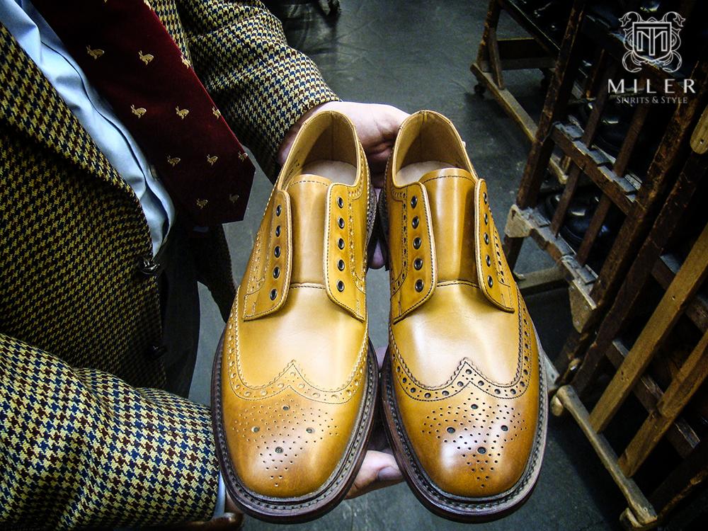 Produkcja obuwia Goodyear Welted i wizyta w fabryce butów Loake cz.2