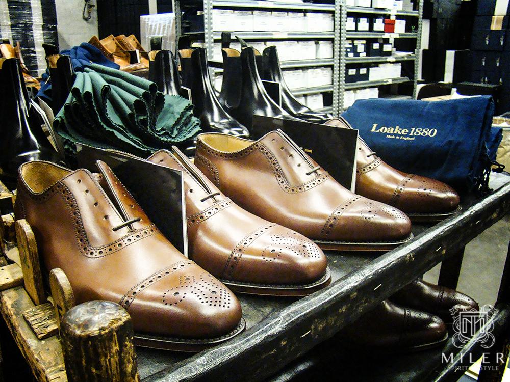 Produkcja obuwia Goodyear Welted i wizyta w fabryce butów Loake cz.1