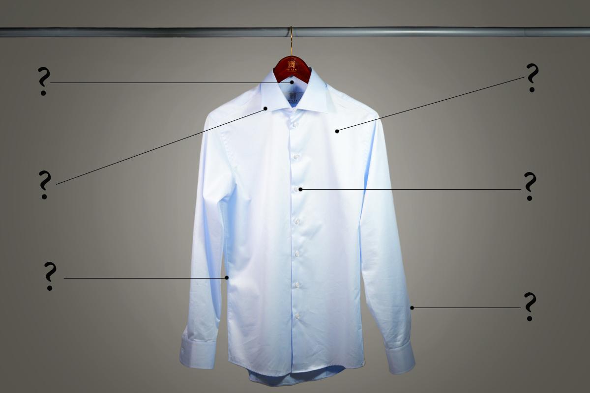 Koszula męska jak ocenić jej jakość w mniej niż minutę?