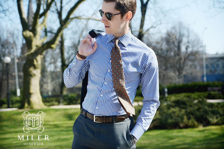 Koszula męska – jak ocenić jej jakość w mniej niż minutę?