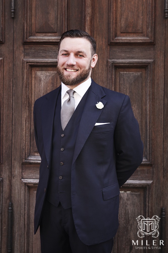 Miler Bespoke Tailoring Wedding Suit