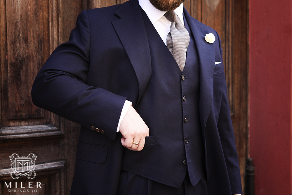 Miler_Bespoke Tailoring Wedding Suit