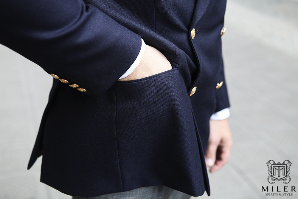 Marynarka klubowa by Miler Bespoke Tailoring – 1/3 odsłona formalna