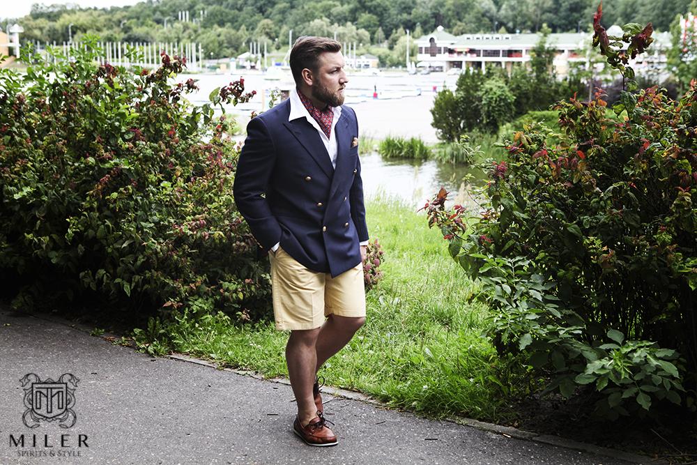 Marynarka klubowa by Miler Bespoke Tailoring – 3/3 – odsłona casualowa