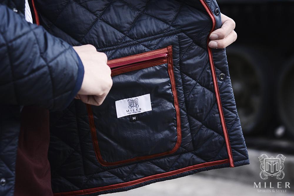 wewnętrzna kieszeń kurtki Miler
