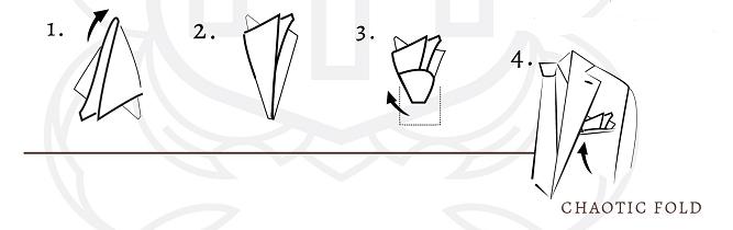poszetk Chaotic fold jak składać