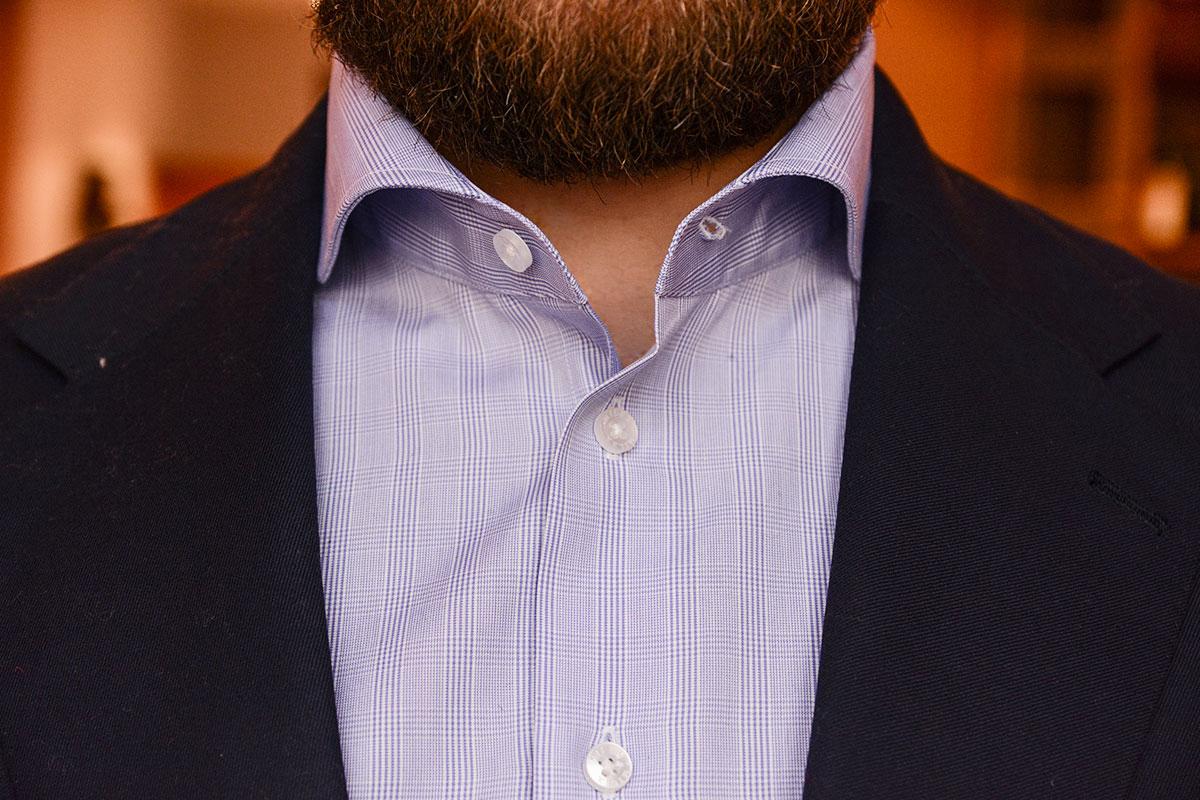 Tomasz Miler koszula w kratke POW