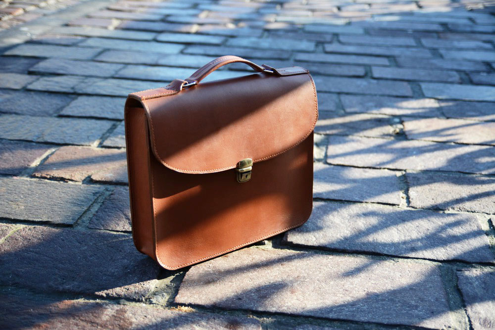 MilerManufacture Vegetable Tanned Briefcase