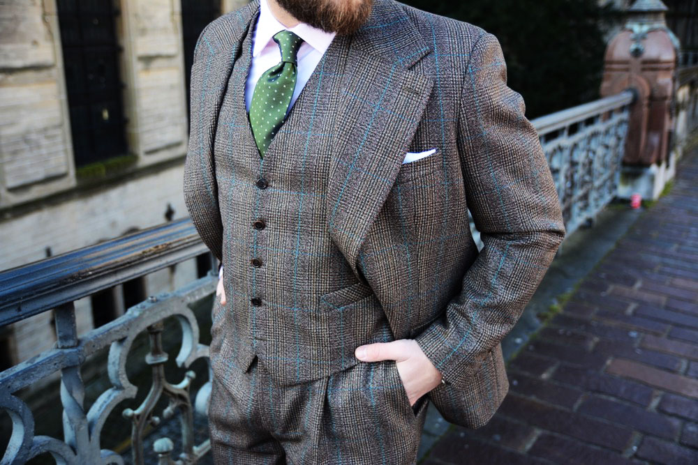 Three Piece Suit by Tom Miler