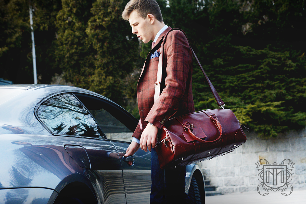 Brązowa MILER Travel Bag w akcji!