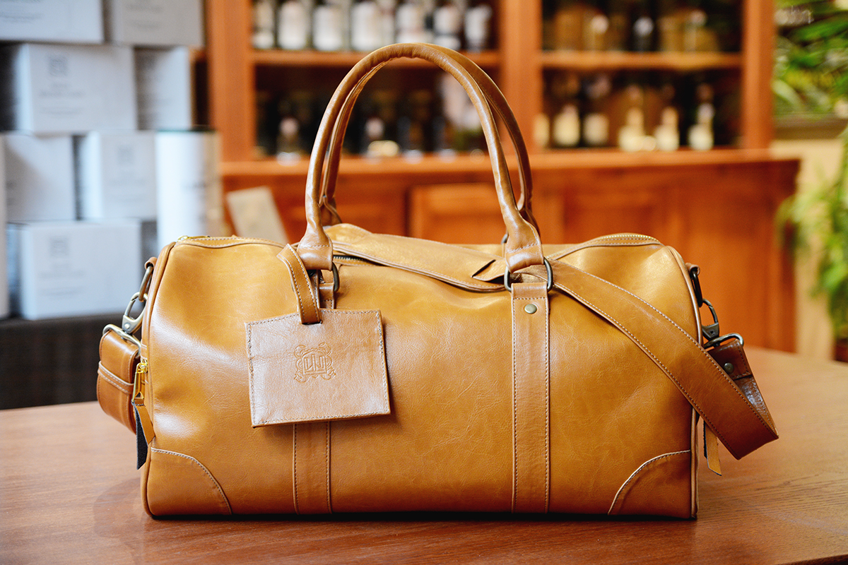 Miler Travel Bag Cognac