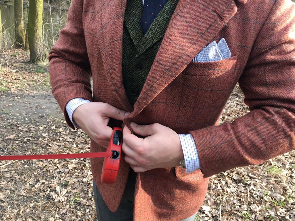 bespoke tailoring tweed