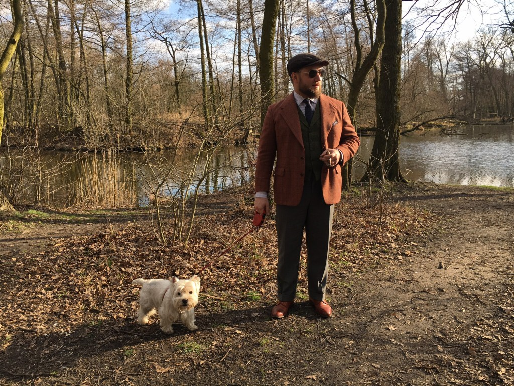 casual walk in the park bespoke tailoring