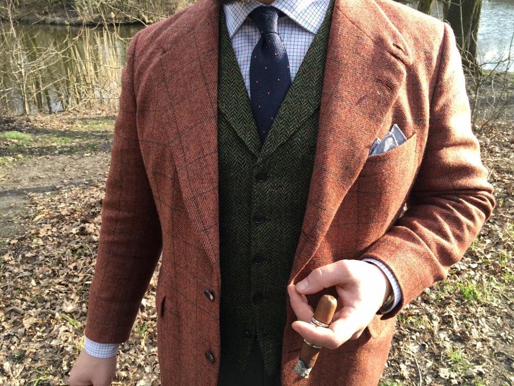 tweed i koszula MILER