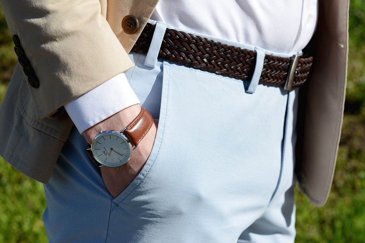 Jak rozpoznać dobre spodnie typu chino?