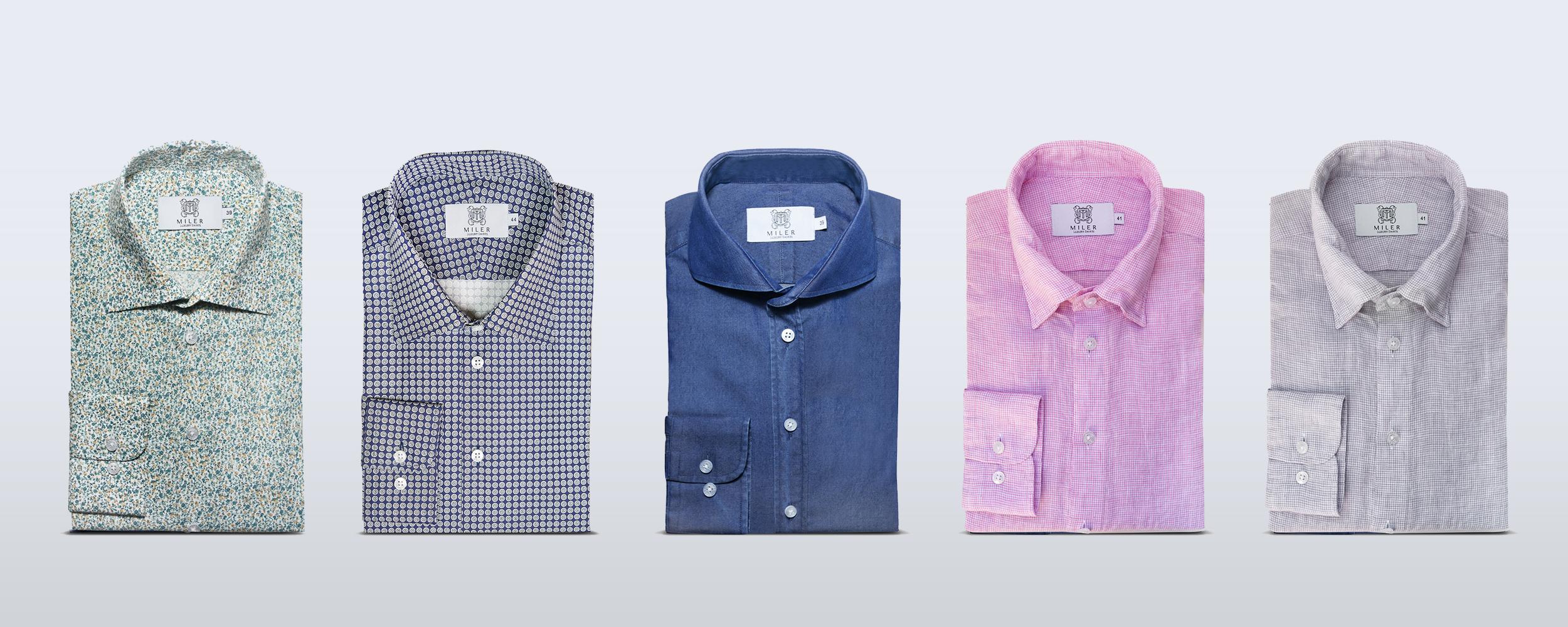 Nowa kolekcja koszul MILER!