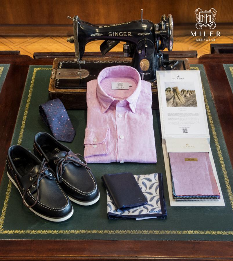 Pink-linen-shirt-MILER