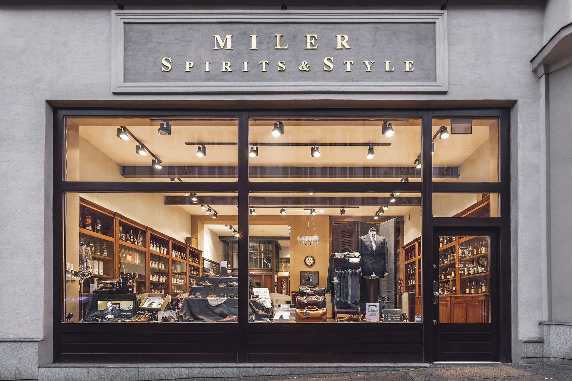 Sesja zdjęciowa sklepu MILER