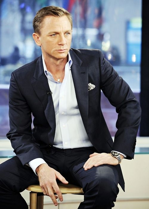 Daniel Craig w marynarce