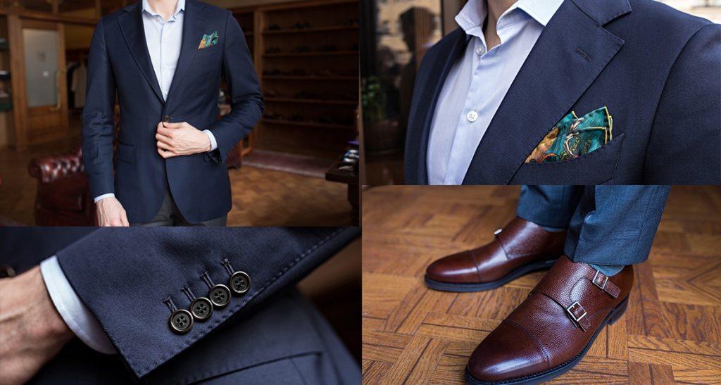 granatowy-garnitur-bez-krawata