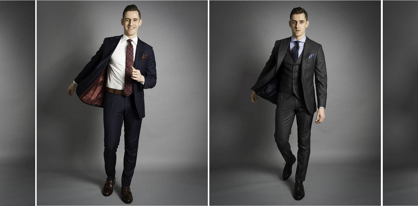Czy dwa garnitury wystarczą na cały tydzień?