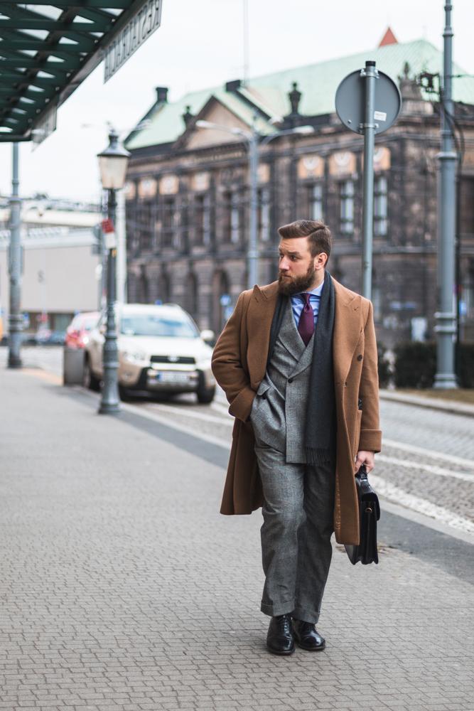 Płaszcz Polo Coat na zimę