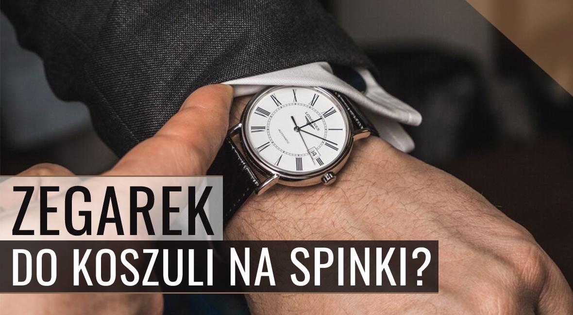 Zegarek do koszuli na spinki – recenzja Longines Présence