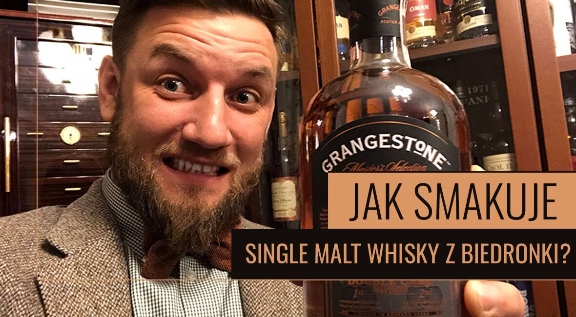 Jak smakuje Single malt whisky z Biedronki?