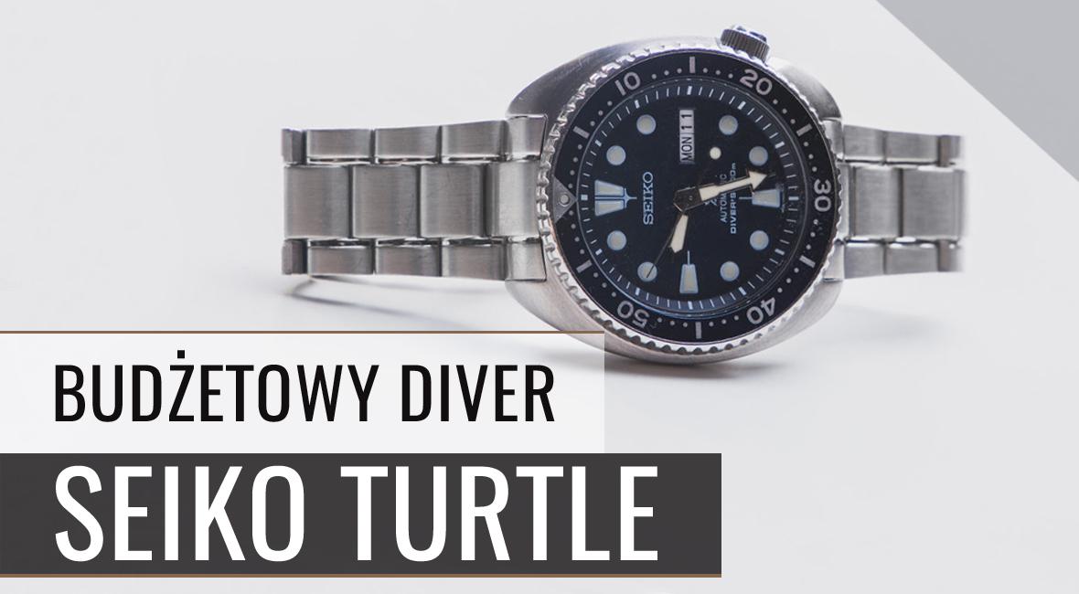"""Recenzja SEIKO """"Turtle"""" (SRP773k1) – diver na każdą kieszeń"""