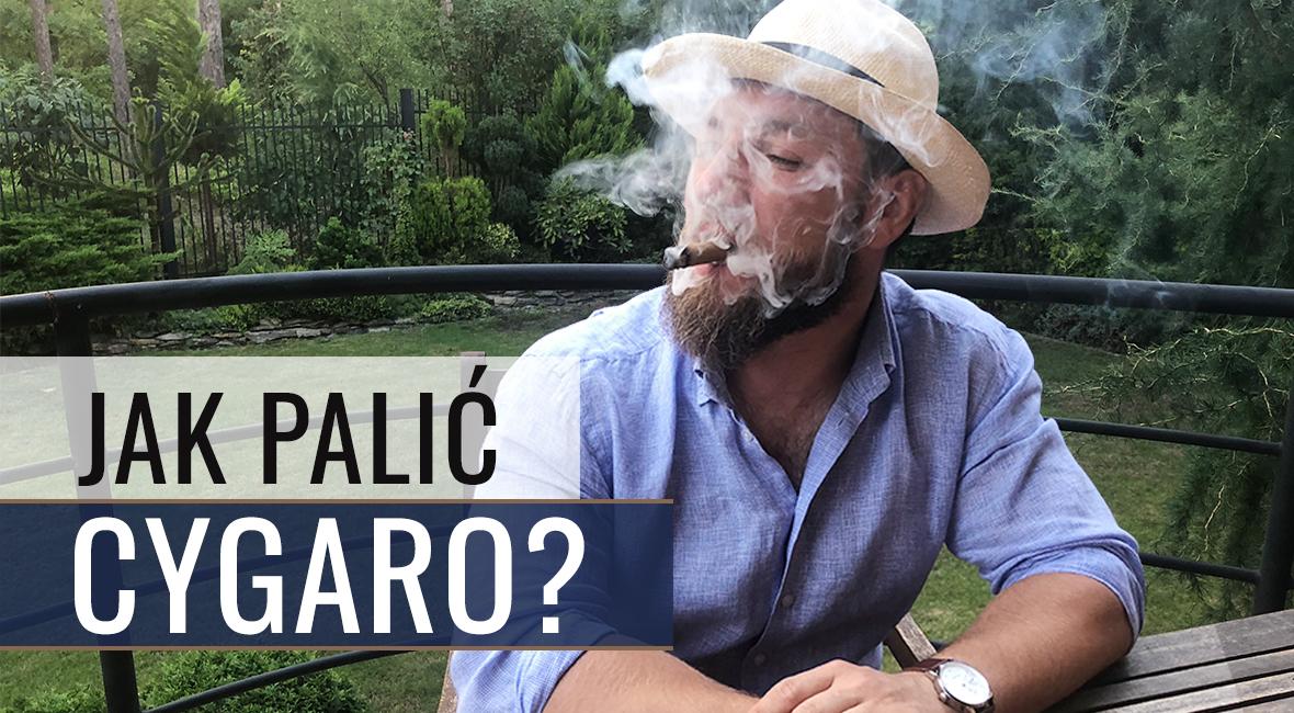 Jak palić cygaro?