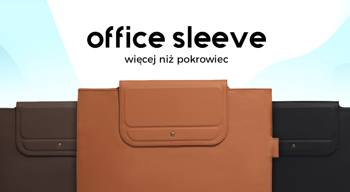 Stylowy i nietypowy pokrowiec na laptopa – Manumi Office Sleeve